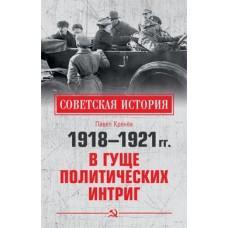 1918-1921 годы. В гуще политических интриг